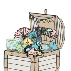 little li party treasure box